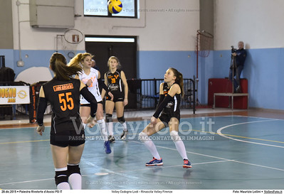 Volley Codogno Lodi - Rinascita Volley Firenze Qualificazioni Girone B • 7º Trofeo Nazionale Under 16 Femminile / 5º Memorial Tomasso Sulpizi.  Palestra Rivotorto d'Assisi PG, 28 Dicembre 2015. FOTO: Maurizio Lollini © 2015 Volleyfoto.it, all rights reserved [id:20151228.DSC_2732]