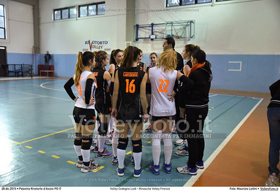 Volley Codogno Lodi - Rinascita Volley Firenze Qualificazioni Girone B • 7º Trofeo Nazionale Under 16 Femminile / 5º Memorial Tomasso Sulpizi.  Palestra Rivotorto d'Assisi PG, 28 Dicembre 2015. FOTO: Maurizio Lollini © 2015 Volleyfoto.it, all rights reserved [id:20151228.DSC_2685]
