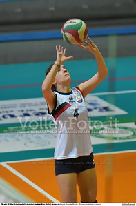Semifinale 9º-12º posto: Volley 4 Strade Rieti - Rinascita Volley Firenze 7º Trofeo Nazionale Under 16 Femminile - 5º Memorial Tomasso Sulpizi.  PalaGiontella Bastia Umbra PG, 28 Dicembre 2015. FOTO: Michele Benda © 2015 Volleyfoto.it, all rights reserved [id:20151228.MB2_2434]