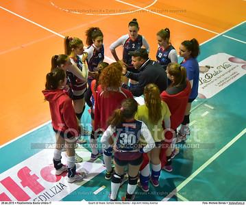 Quarti di finale: School Volley Bastia - Alp Airri Volley Aversa 7º Trofeo Nazionale Under 16 Femminile - 5º Memorial Tomasso Sulpizi.  PalaGiontella Bastia Umbra PG, 28 Dicembre 2015. FOTO: Michele Benda © 2015 Volleyfoto.it, all rights reserved [id:20151228.MB2_2568]