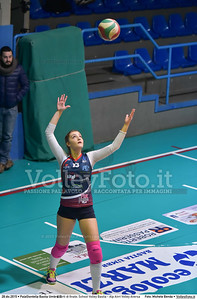 Quarti di finale: School Volley Bastia - Alp Airri Volley Aversa 7º Trofeo Nazionale Under 16 Femminile - 5º Memorial Tomasso Sulpizi.  PalaGiontella Bastia Umbra PG, 28 Dicembre 2015. FOTO: Michele Benda © 2015 Volleyfoto.it, all rights reserved [id:20151228.MB2_2592]