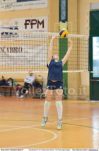 Semifinale 9º-12º: Volley Cave Roma - Vis Fiamenga Foligno 7º Trofeo Nazionale Under 16 Femminile - 5º Memorial Tomasso Sulpizi.  PalaSport Spello PG, 28 Dicembre 2015. FOTO: Maurizio Lollini © 2015 Volleyfoto.it, all rights reserved [id:20151228.DSC_3725]