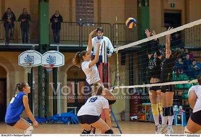Quarti di finale: BGV Pontedera - CUS Siena 7º Trofeo Nazionale Under 16 Femminile - 5º Memorial Tomasso Sulpizi.  PalaSport Spello PG, 28 Dicembre 2015. FOTO: Maurizio Lollini © 2015 Volleyfoto.it, all rights reserved [id:20151228.DSC_4125]