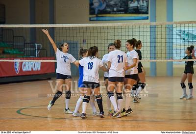 Quarti di finale: BGV Pontedera - CUS Siena 7º Trofeo Nazionale Under 16 Femminile - 5º Memorial Tomasso Sulpizi.  PalaSport Spello PG, 28 Dicembre 2015. FOTO: Maurizio Lollini © 2015 Volleyfoto.it, all rights reserved [id:20151228.DSC_4233]