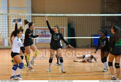 Quarti di finale: BGV Pontedera - CUS Siena 7º Trofeo Nazionale Under 16 Femminile - 5º Memorial Tomasso Sulpizi.  PalaSport Spello PG, 28 Dicembre 2015. FOTO: Maurizio Lollini © 2015 Volleyfoto.it, all rights reserved [id:20151228.DSC_4169]