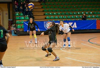 Quarti di finale: BGV Pontedera - CUS Siena 7º Trofeo Nazionale Under 16 Femminile - 5º Memorial Tomasso Sulpizi.  PalaSport Spello PG, 28 Dicembre 2015. FOTO: Maurizio Lollini © 2015 Volleyfoto.it, all rights reserved [id:20151228.DSC_4128]
