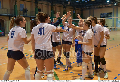 Quarti di finale: BGV Pontedera - CUS Siena 7º Trofeo Nazionale Under 16 Femminile - 5º Memorial Tomasso Sulpizi.  PalaSport Spello PG, 28 Dicembre 2015. FOTO: Maurizio Lollini © 2015 Volleyfoto.it, all rights reserved [id:20151228.DSC_4075]