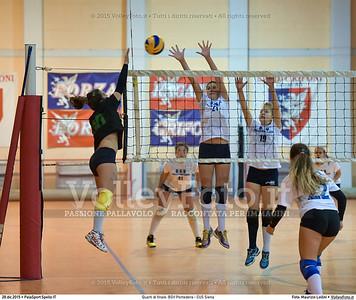 Quarti di finale: BGV Pontedera - CUS Siena 7º Trofeo Nazionale Under 16 Femminile - 5º Memorial Tomasso Sulpizi.  PalaSport Spello PG, 28 Dicembre 2015. FOTO: Maurizio Lollini © 2015 Volleyfoto.it, all rights reserved [id:20151228.DSC_4167]
