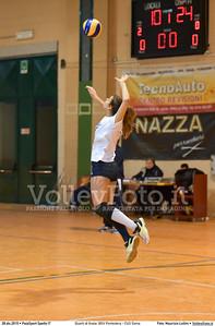 Quarti di finale: BGV Pontedera - CUS Siena 7º Trofeo Nazionale Under 16 Femminile - 5º Memorial Tomasso Sulpizi.  PalaSport Spello PG, 28 Dicembre 2015. FOTO: Maurizio Lollini © 2015 Volleyfoto.it, all rights reserved [id:20151228.DSC_4263]