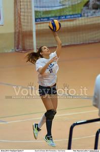 Quarti di finale: BGV Pontedera - CUS Siena 7º Trofeo Nazionale Under 16 Femminile - 5º Memorial Tomasso Sulpizi.  PalaSport Spello PG, 28 Dicembre 2015. FOTO: Maurizio Lollini © 2015 Volleyfoto.it, all rights reserved [id:20151228.DSC_4306]