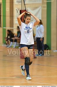 Quarti di finale: BGV Pontedera - CUS Siena 7º Trofeo Nazionale Under 16 Femminile - 5º Memorial Tomasso Sulpizi.  PalaSport Spello PG, 28 Dicembre 2015. FOTO: Maurizio Lollini © 2015 Volleyfoto.it, all rights reserved [id:20151228.DSC_4260]