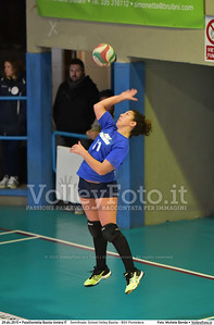Semifinale: School Volley Bastia - BGV Pontedera 7º Trofeo Nazionale Under 16 Femminile - 5º Memorial Tomasso Sulpizi.  PalaGiontella Bastia Umbra PG, 28 Dicembre 2015. FOTO: Michele Benda © 2015 Volleyfoto.it, all rights reserved [id:20151229.MB2_3327]