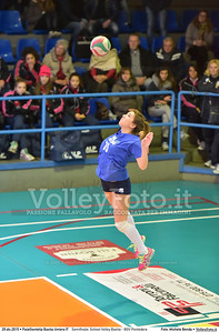 Semifinale: School Volley Bastia - BGV Pontedera 7º Trofeo Nazionale Under 16 Femminile - 5º Memorial Tomasso Sulpizi.  PalaGiontella Bastia Umbra PG, 28 Dicembre 2015. FOTO: Michele Benda © 2015 Volleyfoto.it, all rights reserved [id:20151229.MB2_3373]