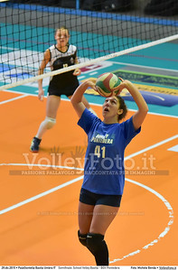 Semifinale: School Volley Bastia - BGV Pontedera 7º Trofeo Nazionale Under 16 Femminile - 5º Memorial Tomasso Sulpizi.  PalaGiontella Bastia Umbra PG, 28 Dicembre 2015. FOTO: Michele Benda © 2015 Volleyfoto.it, all rights reserved [id:20151229.MB2_3358]