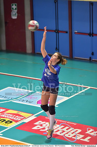 Semifinale: School Volley Bastia - BGV Pontedera 7º Trofeo Nazionale Under 16 Femminile - 5º Memorial Tomasso Sulpizi.  PalaGiontella Bastia Umbra PG, 28 Dicembre 2015. FOTO: Michele Benda © 2015 Volleyfoto.it, all rights reserved [id:20151229.MB2_3380]