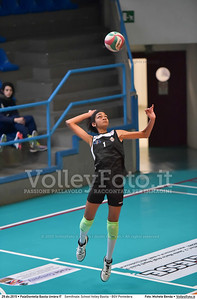 Semifinale: School Volley Bastia - BGV Pontedera 7º Trofeo Nazionale Under 16 Femminile - 5º Memorial Tomasso Sulpizi.  PalaGiontella Bastia Umbra PG, 28 Dicembre 2015. FOTO: Michele Benda © 2015 Volleyfoto.it, all rights reserved [id:20151229.MB2_3337]