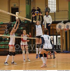 Semifinale: I' Giglio Castelfiorentino - Pallavolo Fabriano Volley Insieme 7º Trofeo Nazionale Under 16 Femminile - 5º Memorial Tomasso Sulpizi.  PalaSport Spello PG, 29 Dicembre 2015. FOTO: Maurizio Lollini © 2015 Volleyfoto.it, all rights reserved [id:20151229.DSC_5343]
