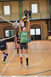 Finale 11º posto: Volley 4 Strade rieti - Volley Cave Roma 7º Trofeo Nazionale Under 16 Femminile - 5º Memorial Tomasso Sulpizi.  PalaSport Spello PG, 28 Dicembre 2015. FOTO: Maurizio Lollini © 2015 Volleyfoto.it, all rights reserved [id:20151229.DSC_5772]