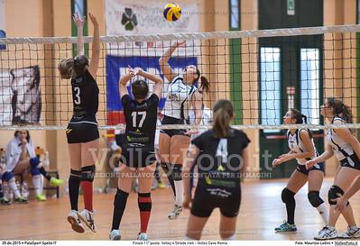 Finale 11º posto: Volley 4 Strade rieti - Volley Cave Roma 7º Trofeo Nazionale Under 16 Femminile - 5º Memorial Tomasso Sulpizi.  PalaSport Spello PG, 28 Dicembre 2015. FOTO: Maurizio Lollini © 2015 Volleyfoto.it, all rights reserved [id:20151229.DSC_5861]