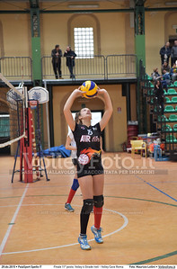 Finale 11º posto: Volley 4 Strade rieti - Volley Cave Roma 7º Trofeo Nazionale Under 16 Femminile - 5º Memorial Tomasso Sulpizi.  PalaSport Spello PG, 28 Dicembre 2015. FOTO: Maurizio Lollini © 2015 Volleyfoto.it, all rights reserved [id:20151229.DSC_5770]