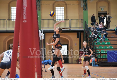 Finale 11º posto: Volley 4 Strade rieti - Volley Cave Roma 7º Trofeo Nazionale Under 16 Femminile - 5º Memorial Tomasso Sulpizi.  PalaSport Spello PG, 28 Dicembre 2015. FOTO: Maurizio Lollini © 2015 Volleyfoto.it, all rights reserved [id:20151229.DSC_5785]