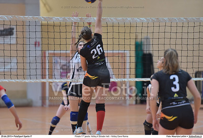 Finale 11º posto: Volley 4 Strade rieti - Volley Cave Roma 7º Trofeo Nazionale Under 16 Femminile - 5º Memorial Tomasso Sulpizi.  PalaSport Spello PG, 28 Dicembre 2015. FOTO: Maurizio Lollini © 2015 Volleyfoto.it, all rights reserved [id:20151229.DSC_5826]