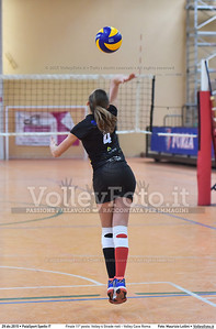 Finale 11º posto: Volley 4 Strade rieti - Volley Cave Roma 7º Trofeo Nazionale Under 16 Femminile - 5º Memorial Tomasso Sulpizi.  PalaSport Spello PG, 28 Dicembre 2015. FOTO: Maurizio Lollini © 2015 Volleyfoto.it, all rights reserved [id:20151229.DSC_5830]