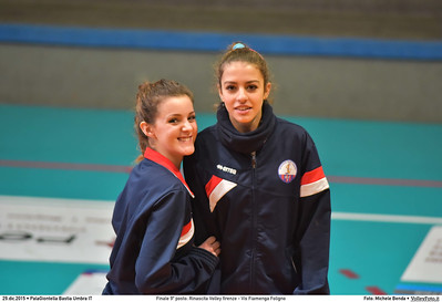 Finale 9º posto: Rinascita Volley firenze - Vis Fiamenga Foligno 7º Trofeo Nazionale Under 16 Femminile - 5º Memorial Tomasso Sulpizi.  PalaGiontella Bastia Umbra PG, 28 Dicembre 2015. FOTO: Michele Benda © 2015 Volleyfoto.it, all rights reserved [id:20151229.MB2_3604]