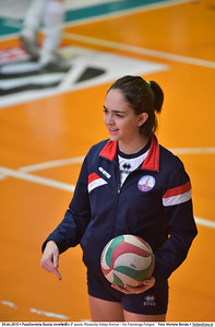 Finale 9º posto: Rinascita Volley firenze - Vis Fiamenga Foligno 7º Trofeo Nazionale Under 16 Femminile - 5º Memorial Tomasso Sulpizi.  PalaGiontella Bastia Umbra PG, 28 Dicembre 2015. FOTO: Michele Benda © 2015 Volleyfoto.it, all rights reserved [id:20151229.MB2_3657]
