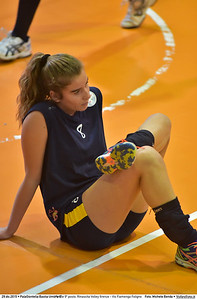 Finale 9º posto: Rinascita Volley firenze - Vis Fiamenga Foligno 7º Trofeo Nazionale Under 16 Femminile - 5º Memorial Tomasso Sulpizi.  PalaGiontella Bastia Umbra PG, 28 Dicembre 2015. FOTO: Michele Benda © 2015 Volleyfoto.it, all rights reserved [id:20151229.MB2_3710]