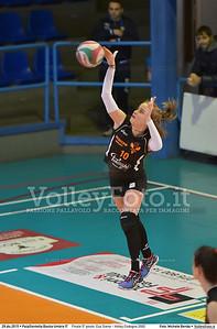Finale 5º posto: Cus Siena - Volley Codogno 2002 7º Trofeo Nazionale Under 16 Femminile - 5º Memorial Tomasso Sulpizi.  PalaGiontella Bastia Umbra PG, 28 Dicembre 2015. FOTO: Michele Benda © 2015 Volleyfoto.it, all rights reserved [id:20151229.MB2_4032]