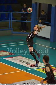 Finale 5º posto: Cus Siena - Volley Codogno 2002 7º Trofeo Nazionale Under 16 Femminile - 5º Memorial Tomasso Sulpizi.  PalaGiontella Bastia Umbra PG, 28 Dicembre 2015. FOTO: Michele Benda © 2015 Volleyfoto.it, all rights reserved [id:20151229.MB2_4031]