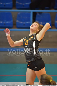 Finale 5º posto: Cus Siena - Volley Codogno 2002 7º Trofeo Nazionale Under 16 Femminile - 5º Memorial Tomasso Sulpizi.  PalaGiontella Bastia Umbra PG, 28 Dicembre 2015. FOTO: Michele Benda © 2015 Volleyfoto.it, all rights reserved [id:20151229.MB2_4018]