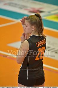 Finale 5º posto: Cus Siena - Volley Codogno 2002 7º Trofeo Nazionale Under 16 Femminile - 5º Memorial Tomasso Sulpizi.  PalaGiontella Bastia Umbra PG, 28 Dicembre 2015. FOTO: Michele Benda © 2015 Volleyfoto.it, all rights reserved [id:20151229.MB2_3988]