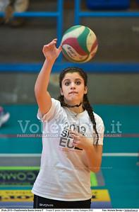 Finale 5º posto: Cus Siena - Volley Codogno 2002 7º Trofeo Nazionale Under 16 Femminile - 5º Memorial Tomasso Sulpizi.  PalaGiontella Bastia Umbra PG, 28 Dicembre 2015. FOTO: Michele Benda © 2015 Volleyfoto.it, all rights reserved [id:20151229.MB2_3954]
