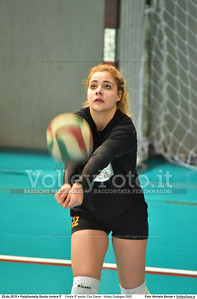 Finale 5º posto: Cus Siena - Volley Codogno 2002 7º Trofeo Nazionale Under 16 Femminile - 5º Memorial Tomasso Sulpizi.  PalaGiontella Bastia Umbra PG, 28 Dicembre 2015. FOTO: Michele Benda © 2015 Volleyfoto.it, all rights reserved [id:20151229.MB2_3946]