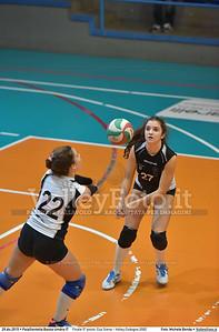 Finale 5º posto: Cus Siena - Volley Codogno 2002 7º Trofeo Nazionale Under 16 Femminile - 5º Memorial Tomasso Sulpizi.  PalaGiontella Bastia Umbra PG, 28 Dicembre 2015. FOTO: Michele Benda © 2015 Volleyfoto.it, all rights reserved [id:20151229.MB2_4034]
