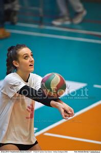 Finale 5º posto: Cus Siena - Volley Codogno 2002 7º Trofeo Nazionale Under 16 Femminile - 5º Memorial Tomasso Sulpizi.  PalaGiontella Bastia Umbra PG, 28 Dicembre 2015. FOTO: Michele Benda © 2015 Volleyfoto.it, all rights reserved [id:20151229.MB2_3941]
