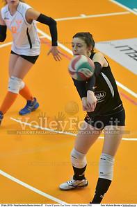 Finale 5º posto: Cus Siena - Volley Codogno 2002 7º Trofeo Nazionale Under 16 Femminile - 5º Memorial Tomasso Sulpizi.  PalaGiontella Bastia Umbra PG, 28 Dicembre 2015. FOTO: Michele Benda © 2015 Volleyfoto.it, all rights reserved [id:20151229.MB2_4051]