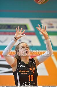 Finale 5º posto: Cus Siena - Volley Codogno 2002 7º Trofeo Nazionale Under 16 Femminile - 5º Memorial Tomasso Sulpizi.  PalaGiontella Bastia Umbra PG, 28 Dicembre 2015. FOTO: Michele Benda © 2015 Volleyfoto.it, all rights reserved [id:20151229.MB2_4000]