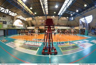 Finale 5º posto: Cus Siena - Volley Codogno 2002 7º Trofeo Nazionale Under 16 Femminile - 5º Memorial Tomasso Sulpizi.  PalaGiontella Bastia Umbra PG, 28 Dicembre 2015. FOTO: Michele Benda © 2015 Volleyfoto.it, all rights reserved [id:20151229.MBQ_0827]