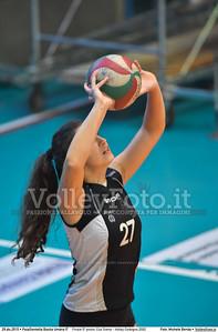 Finale 5º posto: Cus Siena - Volley Codogno 2002 7º Trofeo Nazionale Under 16 Femminile - 5º Memorial Tomasso Sulpizi.  PalaGiontella Bastia Umbra PG, 28 Dicembre 2015. FOTO: Michele Benda © 2015 Volleyfoto.it, all rights reserved [id:20151229.MB2_3957]
