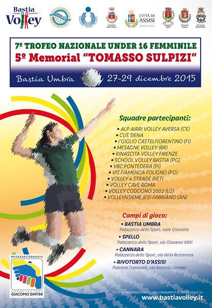 "Manifesto Memorial ""Tomasso Sulpizi"" 2015"