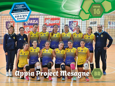 Appia Project Mesagne - Under16