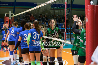 "Under14 «Bastia Volley PG - Toscanagarden Nottolini Capannori LU» - 8º Memorial ""Tomasso Sulpizi"" • 10º Trofeo Nazionale Volley U14 & U16 Femminile IT, 28 dicembre 2018 - Foto: Michele Benda per VolleyFoto.it [Riferimento file: 2018-12-28/NZ6_4364]"