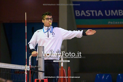 "Under14 «Bastia Volley PG - Toscanagarden Nottolini Capannori LU» - 8º Memorial ""Tomasso Sulpizi"" • 10º Trofeo Nazionale Volley U14 & U16 Femminile IT, 28 dicembre 2018 - Foto: Michele Benda per VolleyFoto.it [Riferimento file: 2018-12-28/NZ6_4375]"