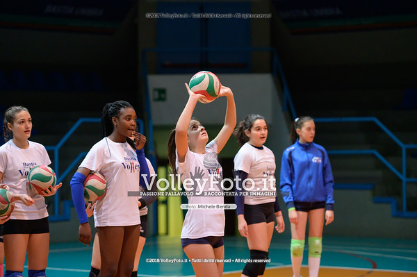 "Under14 «Bastia Volley PG - Toscanagarden Nottolini Capannori LU» - 8º Memorial ""Tomasso Sulpizi"" • 10º Trofeo Nazionale Volley U14 & U16 Femminile IT, 28 dicembre 2018 - Foto: Michele Benda per VolleyFoto.it [Riferimento file: 2018-12-28/NZ6_4334]"