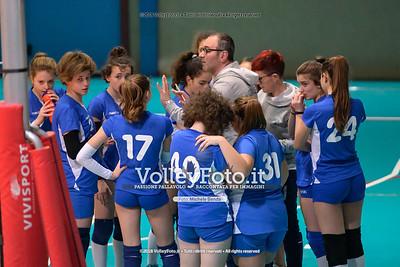 """Under14 «Roma Volley Group - Cortona Volley AR» - 8º Memorial """"Tomasso Sulpizi"""" • 10º Trofeo Nazionale Volley U14 & U16 Femminile IT, 28 dicembre 2018 - Foto: Michele Benda per VolleyFoto.it [Riferimento file: 2018-12-28/NZ6_4802]"""