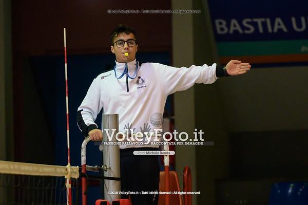 """Under14 «Roma Volley Group - Cortona Volley AR» - 8º Memorial """"Tomasso Sulpizi"""" • 10º Trofeo Nazionale Volley U14 & U16 Femminile IT, 28 dicembre 2018 - Foto: Michele Benda per VolleyFoto.it [Riferimento file: 2018-12-28/NZ6_4762]"""