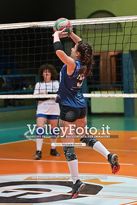 """Under14 «Roma Volley Group - Cortona Volley AR» - 8º Memorial """"Tomasso Sulpizi"""" • 10º Trofeo Nazionale Volley U14 & U16 Femminile IT, 28 dicembre 2018 - Foto: Michele Benda per VolleyFoto.it [Riferimento file: 2018-12-28/NZ6_4710]"""